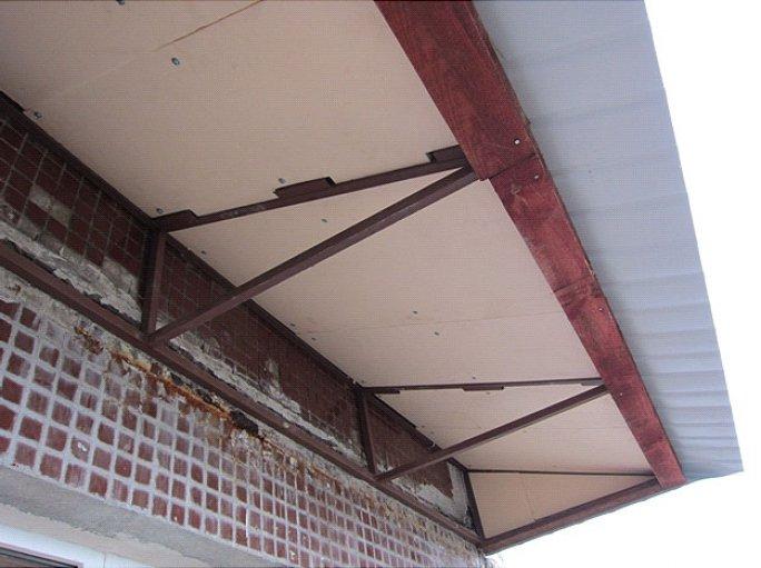 окончательный вид крыши