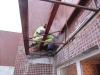 этап 2 монтаж крыши из пеноплекса