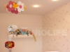 Тканевый потолок в детской комнате