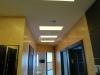 Световые окна в натяжном потолке.