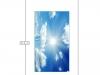 Натяжной потолок ПВХ с фотопечатью - схема