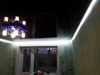 Чем интересны парящие потолки