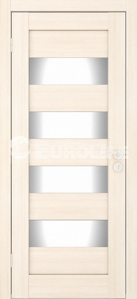 Горизонталь мателюкс беленый дуб - массив сосны и мдф щиты, подетальная сборка без кромки