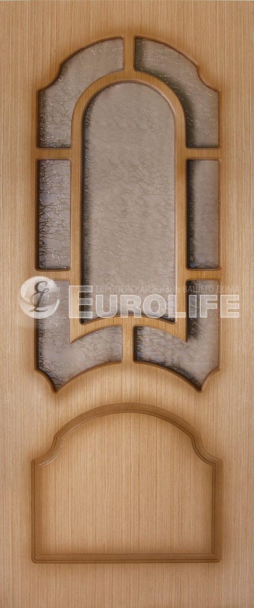 Дверь Лотос. ПВХ