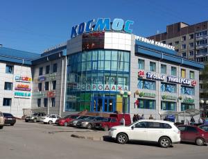 """ТК """"Космос"""", компания """"Евро Лайф"""" - натяжные потолки, пластиковые окна, межкомнатные двери"""