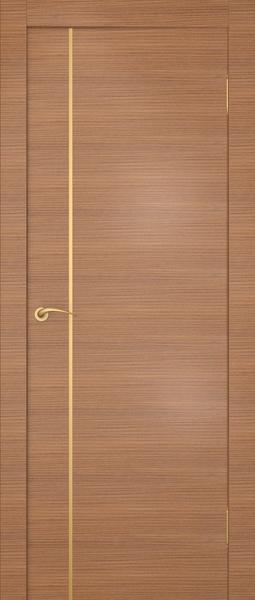 Межкомнатная дверь экошпон с минимальным декором