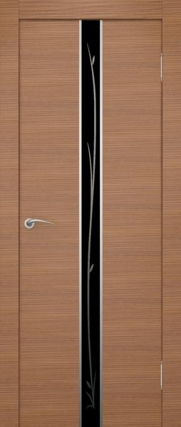 Остекленная экошпонированная дверь Айвенго.