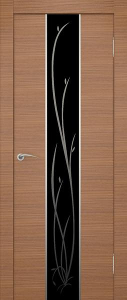 Двери Гранд - из коллекции Задор с художественным стеклом.