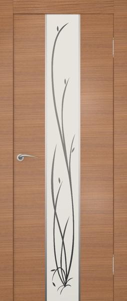 Двери Гранд с матовым стеклом больше подходят спокойному интерьеру.