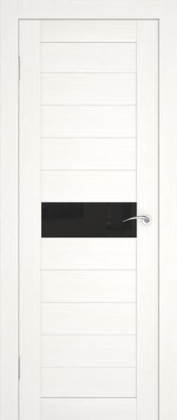 белая дверь с тонированным стеклом
