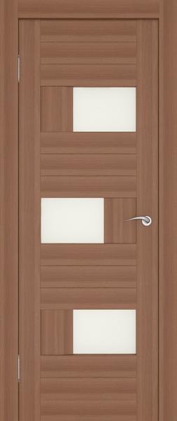 межкомнатные двери с уплотнителем и стеклом квадратиками