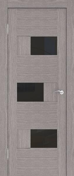 Дверь экошпонированная в цвете грей
