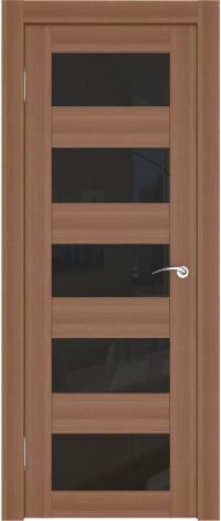 5 горизонтальных вставок из тонированного стекла в двери София 9