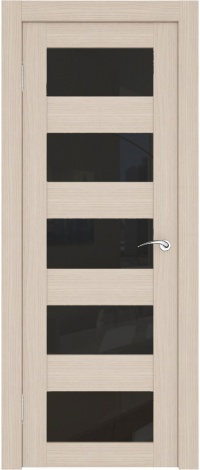 Межкомнатная дверь с фактически зеркальными вставками