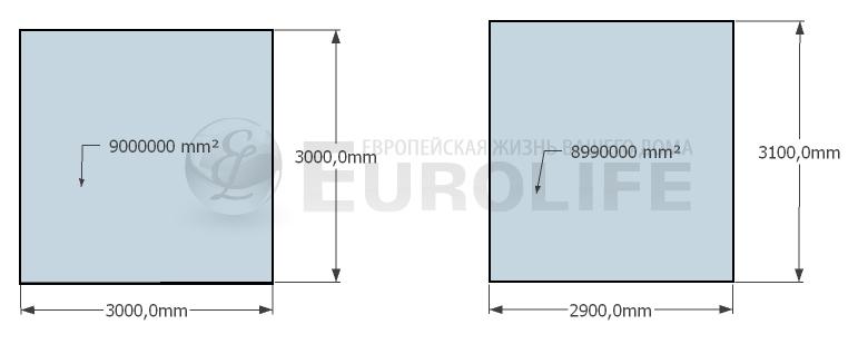 от чего зависят цены на тканевые натяжные потолки