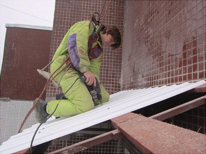 этап 3 монтаж крыши из пеноплекса