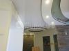 Вставки из натяжных потолков внутри гипсокартонной конструкции