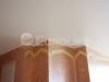Матовый натяжной потолок в гостиной.