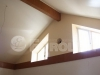 Сатиновый потолок в бильярдной в частном загородном доме