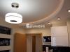 Двухуровневый потолок с закарнизным светом