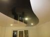 Потолок ПВХ - криволинейная спайка полотен различных фактур