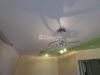 Двухуровневый потолок ПВХ на пластиковой конструкции