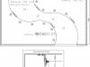 Трехуровневый натяжной потолок ПВХ на металлоконструкции - схема