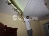 Процесс создания многоуровневого потолка - монтаж основного полотна