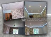 Хотите парящий потолок, но отдаёте предпочтение только тканевым полотнам?