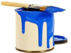 Могу ли я покрасить натяжной потолок