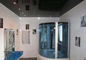 Можно ли использовать натяжные потолки в ванной?