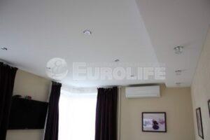 Двухуровневые натяжные потолки любой сложности