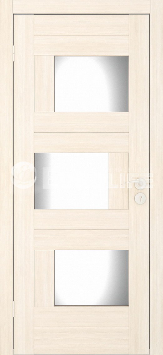 Домино ПО беленый дуб - массив сосны и мдф щиты, подетальная сборка без кромки