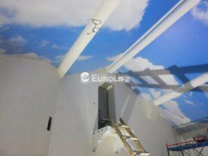 Натяжные потолки в Левашово