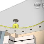 Предварительный чертеж потолка
