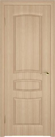 Глухая классическая дверь в отделке Зафлекс