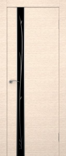 Беленый дуб и венге продолжают держать первые позиции в цвете дверей.