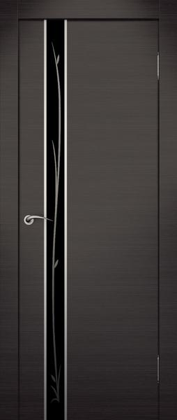 Превосходное сочетание плавных линий двери экошпон с прямыми.