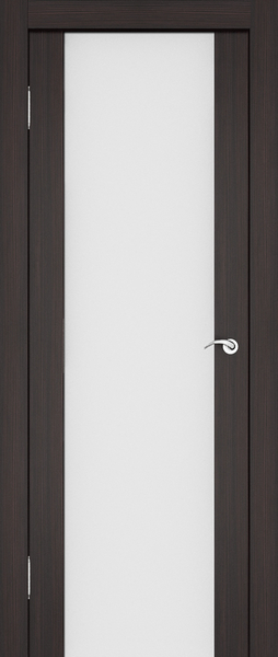 Межкомнатная дверь со стеклом на всё полотно.