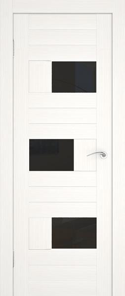 Тонированные вставки в двери