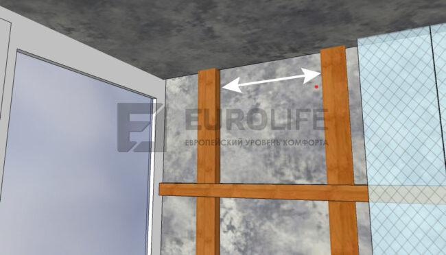 недостаточная обрешетка, пустоты для установки профиля под натяжной потолок недопустимы