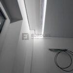 3-рядная гардина для натяжного потолка