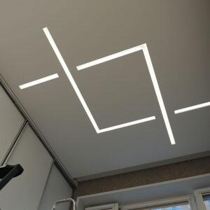 Потолки SLOTT — функциональные  световые линии на системе SLOTT