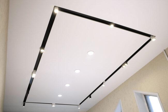 светильники в демпферном потолке