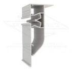 Визуализация алюминиевого профиля для перехода уровня. Мы работаем только с алюминием!