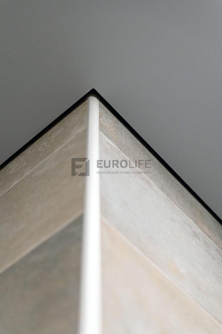 внешний угол теневого потолка