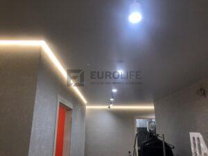 подсветка и светильники разбиты на разное включение