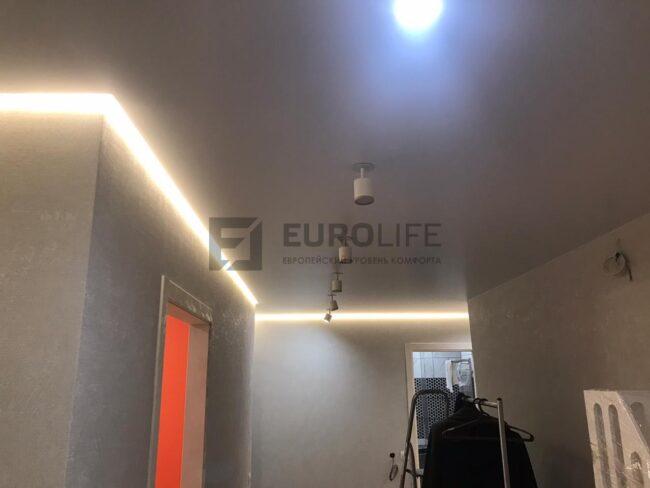 светильники также разбиты на разные клавиши включения, как и подсветка