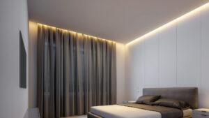Подсветка штор – стильно, просто, быстро