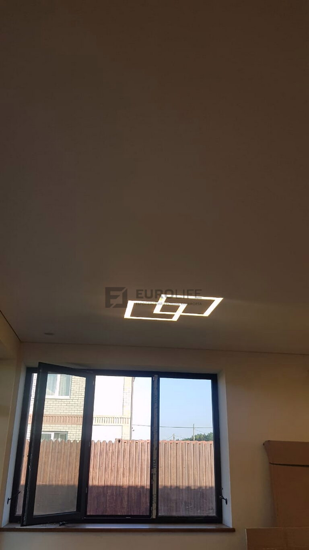 Светящийся квадрат в квадрате SLOTT на потолке